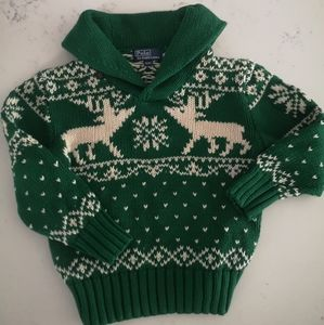 Polo by Ralph Lauren knit holiday sweater